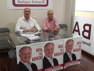 Badajoz Adelante dice que pondrá en marcha un Consorcio para la rehabilitación del Casco Antiguo