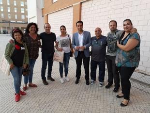 Cabezas asegura que ''hará ciudad'' con la construcción de cinco nuevos centros cívicos