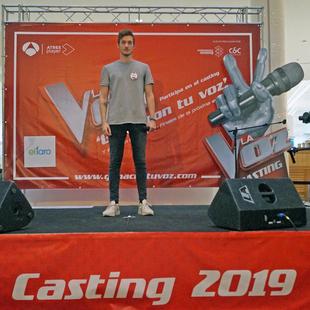 Luis Jiménez Delgado, vencedor de 'Gana con tu Voz' en  Badajoz