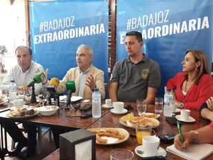 El PP asegura que presenta la oferta más ''sensata e ilusionante'' para Badajoz