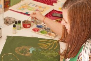 Exposición de ilustraciones con temática infantil en Ámbito Cultural