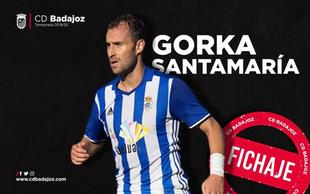 Gorka Santamaría se une al proyecto blanquinegro