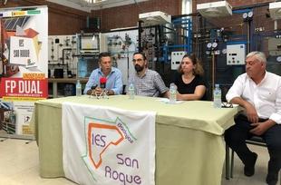 Presentada la modalidad DUAL del ciclo formativo de grado superior de Instalaciones Térmicas y de Fluidos del IES San Roque de Badajoz