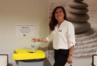 El Corte Inglés de Badajoz y FCC acuerdan la recogida semanal de residuos para reciclaje