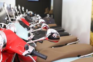 Badajoz punto clave en la venta de motos
