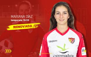Mariana Díaz renueva con el Santa Teresa y realizará su recuperación en Badajoz