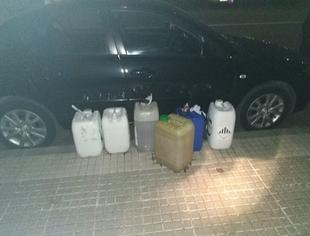 Detenidas tres personas por robar combustible a un vehículo estacionado en Badajoz
