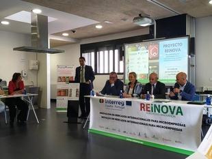Se logran nueve productos innovadores extremeños con el Proyecto REINOVA en el que ha participado la Cámara de Badajoz