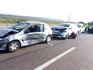 El número de accidentes de tráfico totales bajan un 19,5%