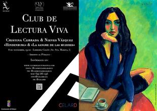 Encuentro coloquio entre las escritoras Cristina Cerrada y Nieves Vázquez Recio, en el marco del Club de Lectura Viva