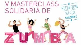 V Masterclass Solidaria de Zumba el próximo 23 de noviembre en El Vivero