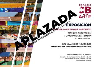 Cancelada la inauguración de la exposición ''Badajoz, la ciudad que habitamos''