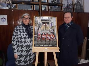 La Vera Cruz lanza 300 ejemplares de su calendario Cofrade 2020