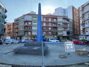 Cabezas pide acelerar la recepción de la obra de la plaza Santa Marta