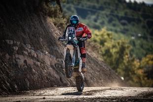 La baja TT Dehesa Extremadura, puntuable para el campeonato de Europa de bajas en motos