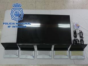 La Policía Nacional desarticula un grupo criminal dedicado al robo en peluquerías