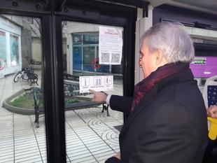 Todos los autobuses de Badajoz llevarán pictogramas para personas con trastorno del espectro autista