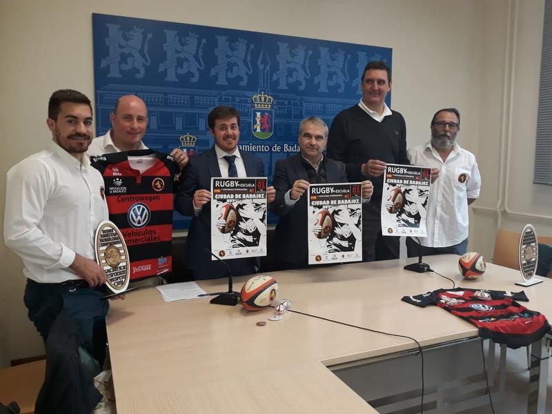 Más de 600 jugadores de 6 a 11 años participarán en el Encuentro Internacional del Club de Rugby