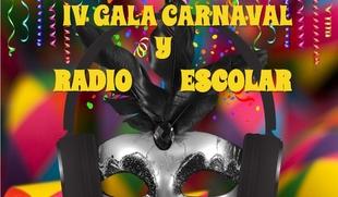 Gala del Carnaval y Radio Escolar en Badajoz