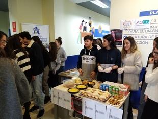 Cesur Badajoz realiza una donación a la Asociación Oncológica Extremeña y a Dando C@lor