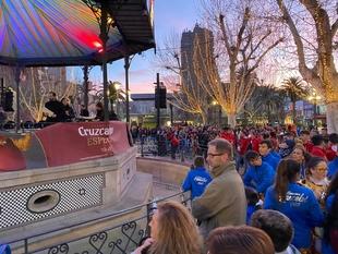 El buen tiempo ha hecho brillar más el Carnaval de Badajoz