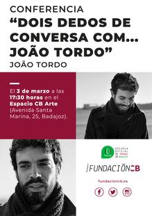 Conferencia João Tordo
