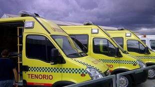 Ambulancias Tenorio garantiza que cuenta con una flota equipada frente al coronavirus