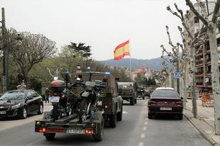 Despliegue de la Brigada ''Extremadura'' XI en la provincia de Badajoz