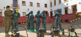 Continua el despliegue de la Brigada ''Extremadura'' XI