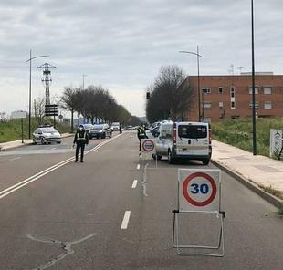Policía Local realiza a diario controles en Badajoz