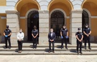 Toma de posesión de tres nuevos agentes de la Policía Local