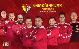 El cuerpo técnico de Juan Carlos Antúnez renueva para la próxima temporada