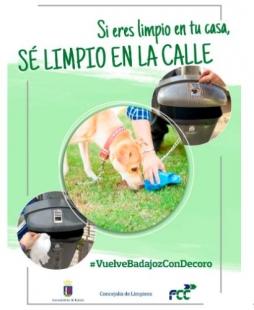 Limpieza presenta la campaña ''Si eres limpio en tu casa, sé limpio en la calle''
