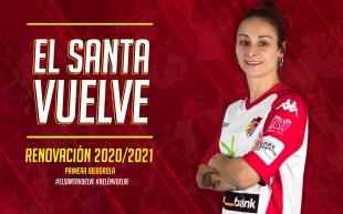 La goleadora Belén Martínez volverá con el Liberbank Santa Teresa Badajoz