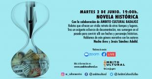 Nacho Ares y Jesús Sánchez Adalid ofrecen una charla sobre novela histórica