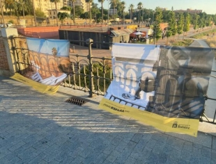 El Grupo Socialista pide trasladar a otra ubicación la exposición ''Desde mi balcón''