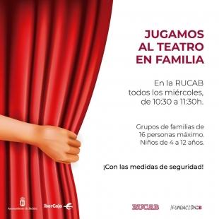 Talleres de teatro para familias en la RUCAB