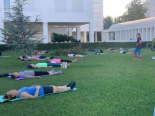 Fundación CB inaugura clases de yoga en la Rucab