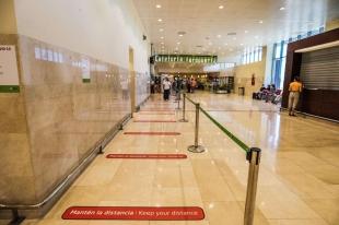 El Aeropuerto de Badajoz retoma su actividad con la reanudación de los vuelos con Madrid y Barcelona