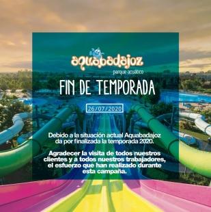 Aqua Badajoz permanece cerrado desde este lunes