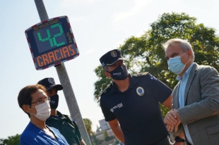 Badajoz contará con cinco radares pedagógicos