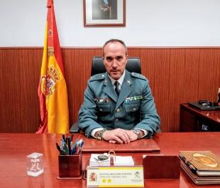 El Teniente Coronel Manuel Delgado Fuentes, nuevo Jefe de la Comandancia de la Guardia Civil de Badajoz