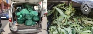 La Policía Local de Badajoz detiene a un individuo que transportaba droga en su vehículo
