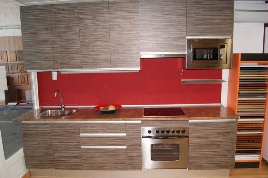 Muebles de cocina de exposicion en zaragoza for Muebles de cocina en zaragoza