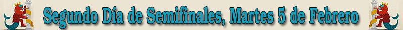 Segundo D�a de Semifinales del Concurso de Murgas del Carnaval de Badajoz 2013