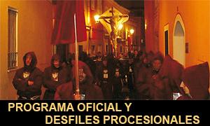 Programa Oficial Semana Santa de Badajoz 2012 y Procesionario