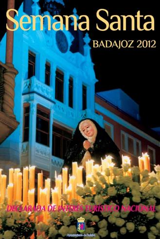 Cartel de la Semana Santa de Badajoz 2012