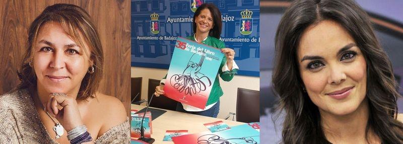 La presentadora Mónica Carrillo o la novelista Megan Maxwell visitarán la 35 Feria del Libro de Badajoz