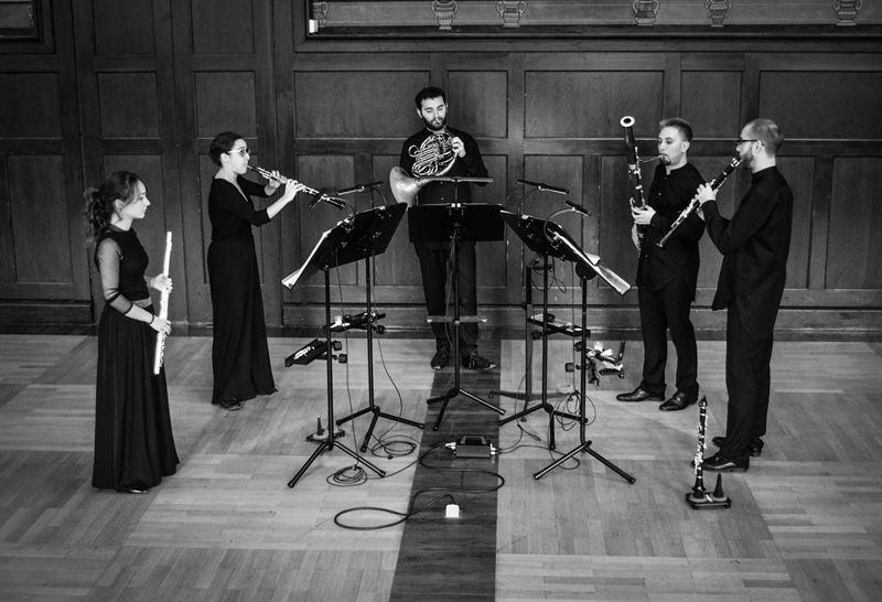 El quinteto de viento Confluentes ensemble ofrece su primer concierto en Espa�a este lunes en Badajoz