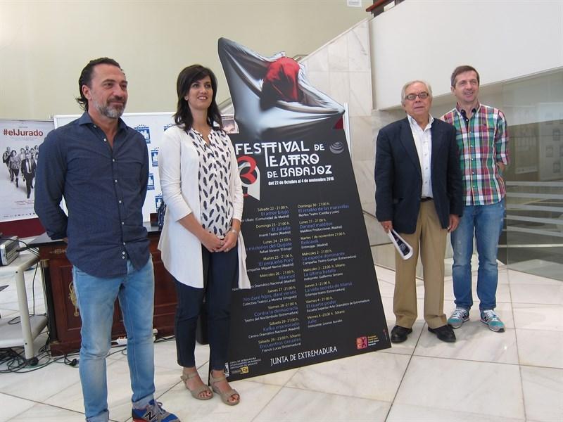 El Festival de Teatro de Badajoz acoge el estreno absoluto en lengua castellana de la obra 'Contra la democracia'